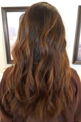 Balayage/haircut
