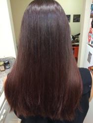 Ombré color/haircut